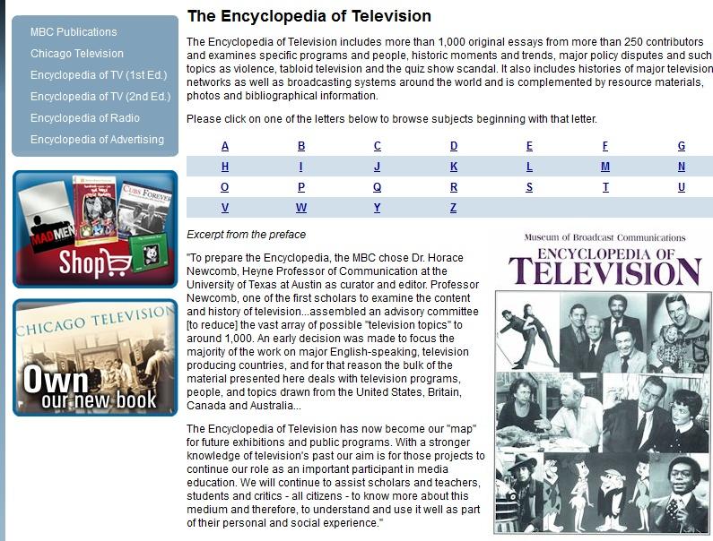 Enciklopedija televizije Screen33