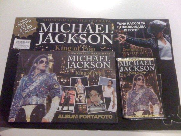 E' in edicola l'album portafoto di Michael 15434210