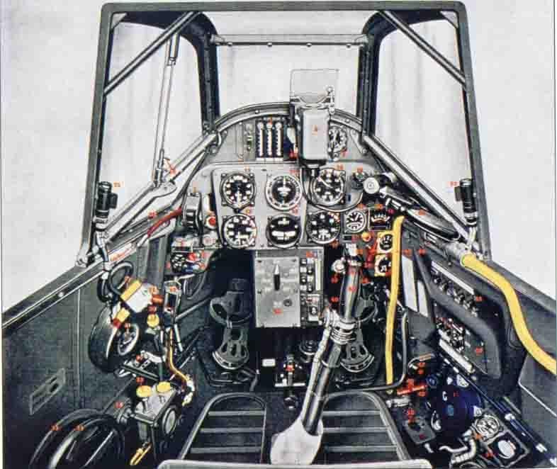 Me Bf109F details 109_4510