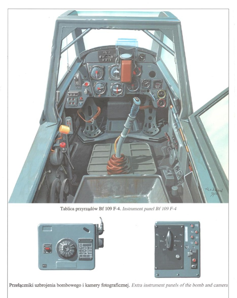 Me Bf109F details 109f10