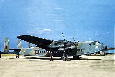 RAF azure blue for Halifax C MK.VII and Warwick transporter Avro2010