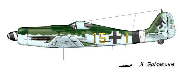 Fw190D9 of Uffz. Karl Georg Genth JG26 Fw190d10