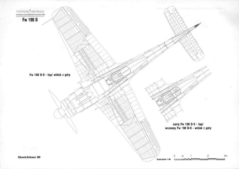 FW190-D9 of JG26 Rivets10