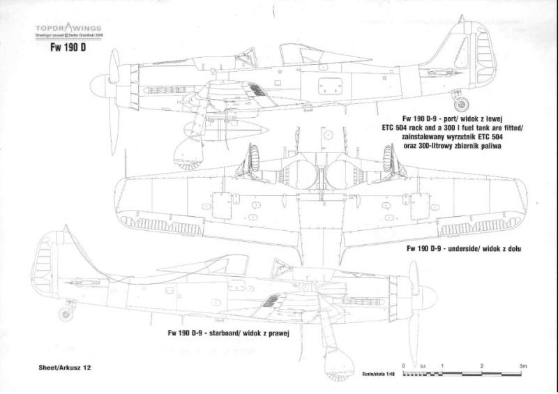 FW190-D9 of JG26 Rivets14