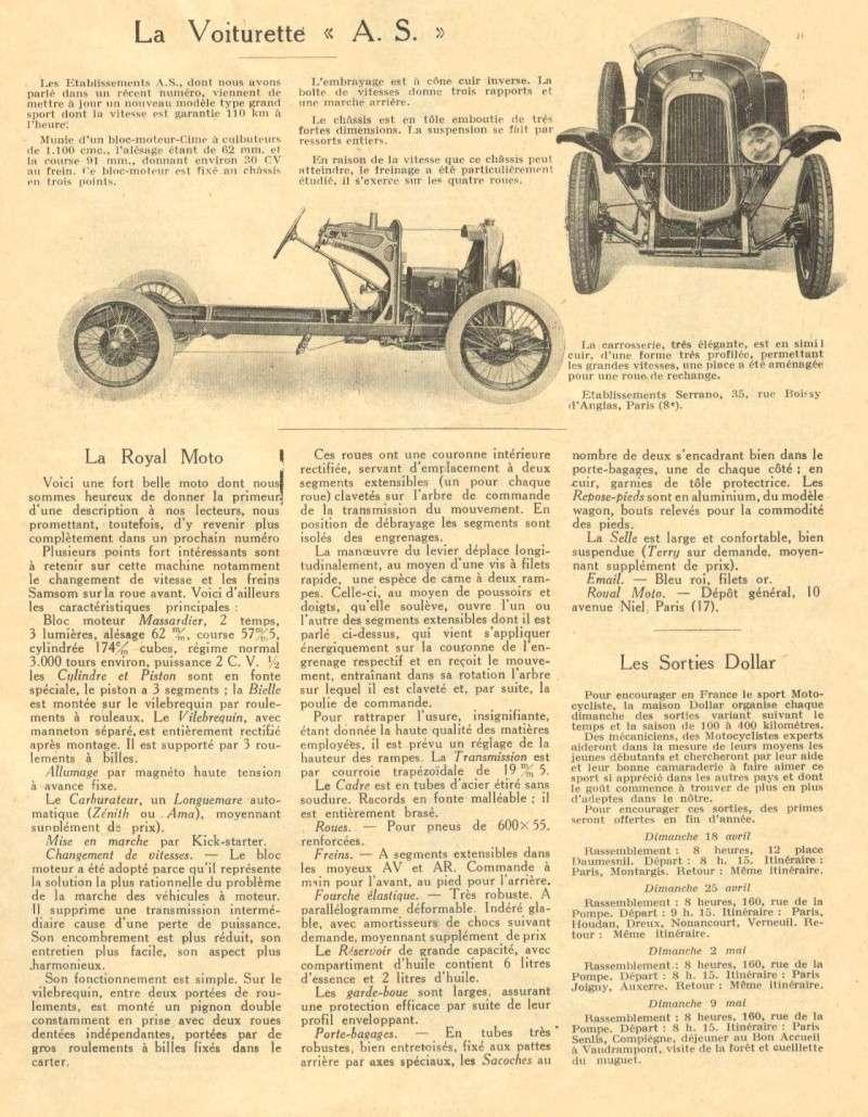 AS cyclecar As_mr110