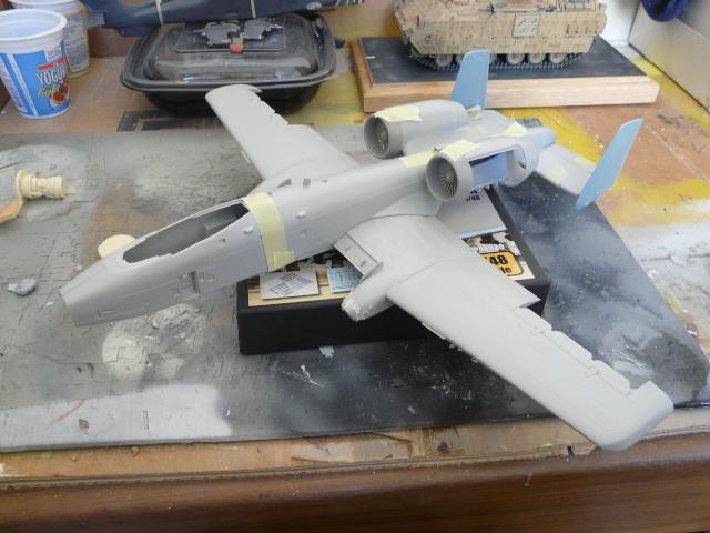 A-10a Thunderbolt II 47th fighter Sqd   Italeri 1-48 P1080310