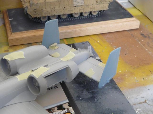 A-10a Thunderbolt II 47th fighter Sqd   Italeri 1-48 P1080313
