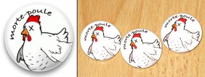 La poule crevée Badge-10