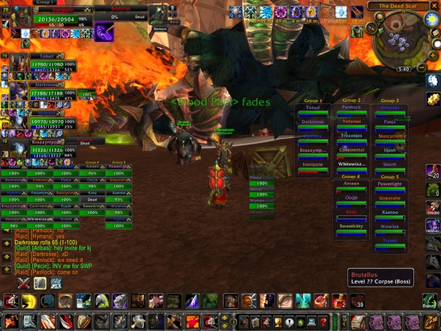 Warlords got Brutalus down in 2010 3 january Wowscr13