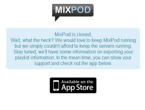 MixPod - share your playlist Mixpod10