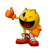 Alphabet Video Game Characters! Pacman10