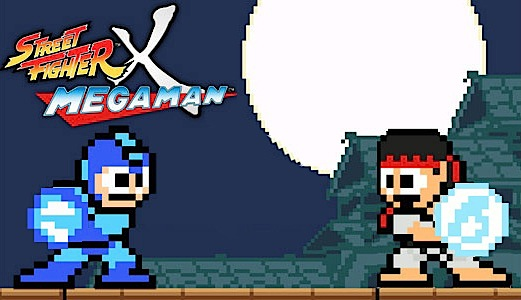 SF X MM (megaman vs street fighter) Street10