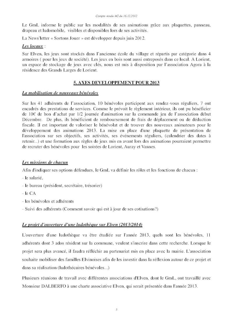 Assemblée générale ordinaire du 16 Décembre 2012 Cr510