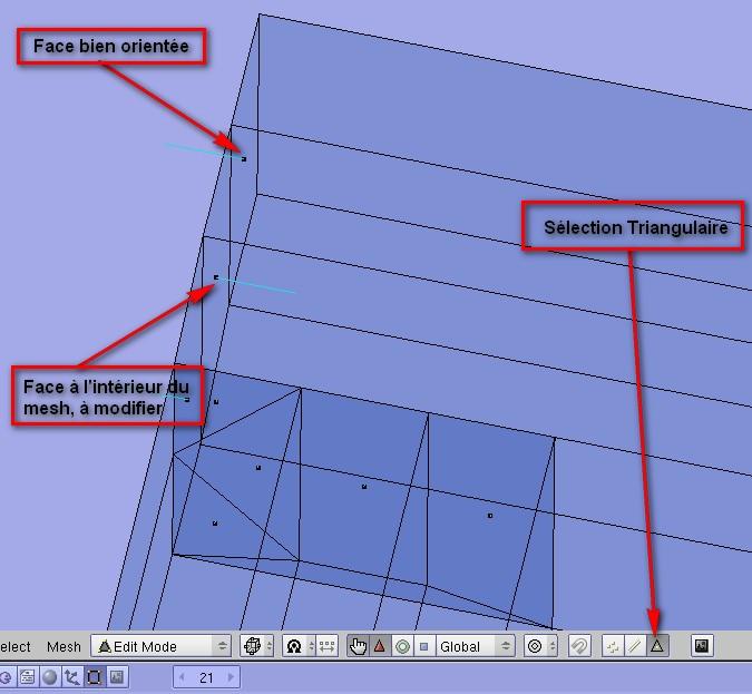 [Apprenti] [Blender 2.4 à 2.49] Positionnez les faces d'un mesh dans le bon sens Bb10