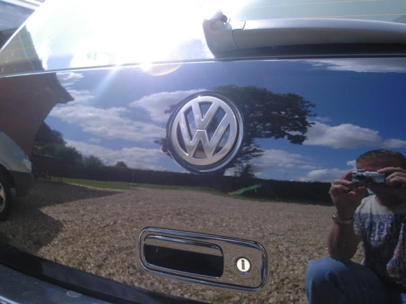 Sharan badge on a Golf mk4 Kif_1310