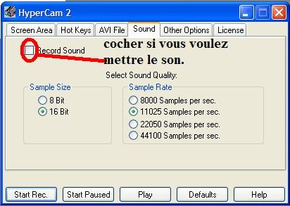 Tutoriel Vidéo - HyperCam T11_bm10