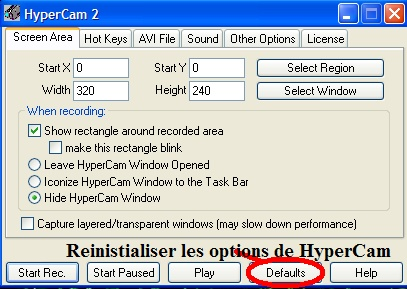 Tutoriel Vidéo - HyperCam T18_bm10