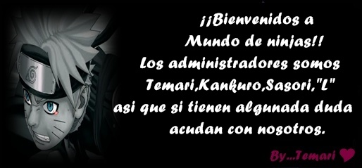 Foro gratis : MUNDO DE  NINJAS - Portal Admini12
