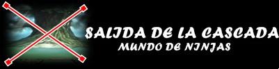 SALIDA DE LA CASCADA
