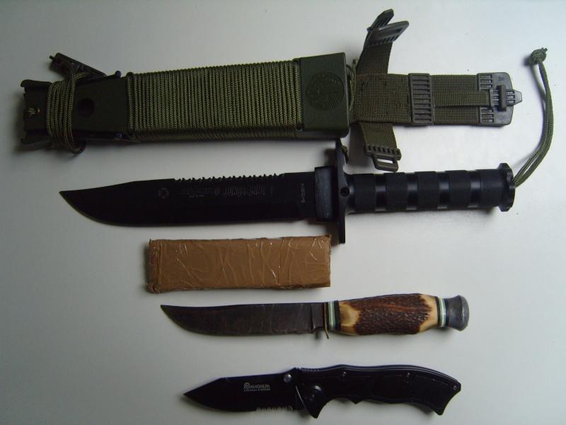 [discussion libre sur les couteaux] Autour des couteaux outdoor Collec10