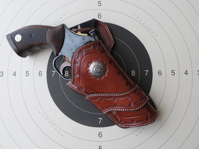 HOLSTER WESTERN MR 73 by SLYE 0111