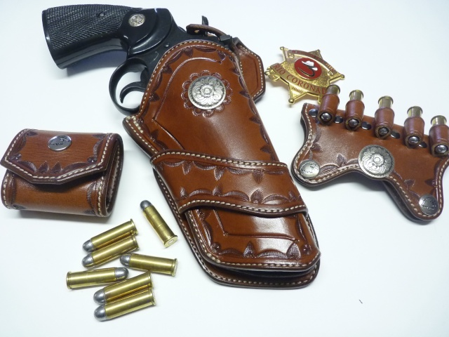 HOLSTER WESTERN MR 73 by SLYE P1110328