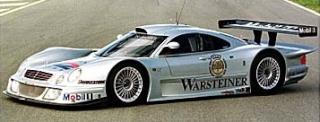 Mercedes aux 24 heures du Mans Clk-lm12