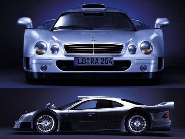 La Mercedes Benz CLK GTR 1998 Clkgtr10