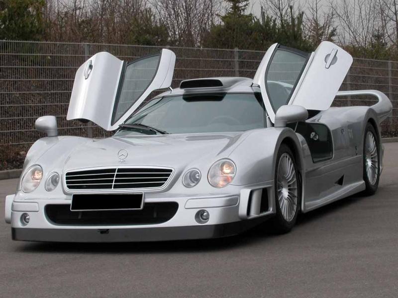 La Mercedes Benz CLK GTR 1998 Clkgtr12