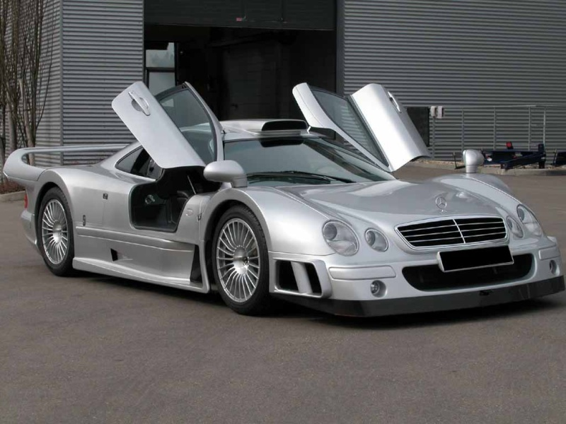 La Mercedes Benz CLK GTR 1998 Clkgtr13