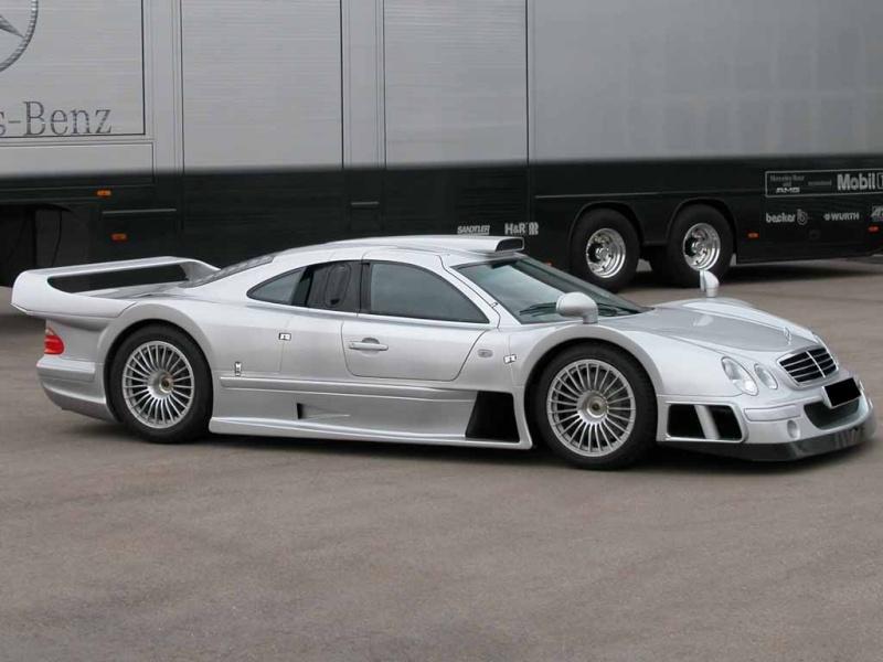 La Mercedes Benz CLK GTR 1998 Clkgtr14