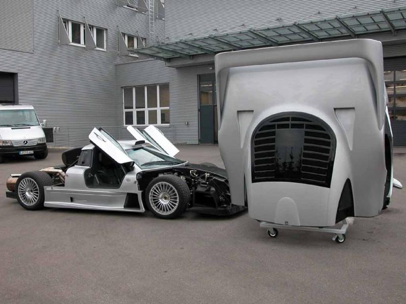 La Mercedes Benz CLK GTR 1998 Clkgtr19
