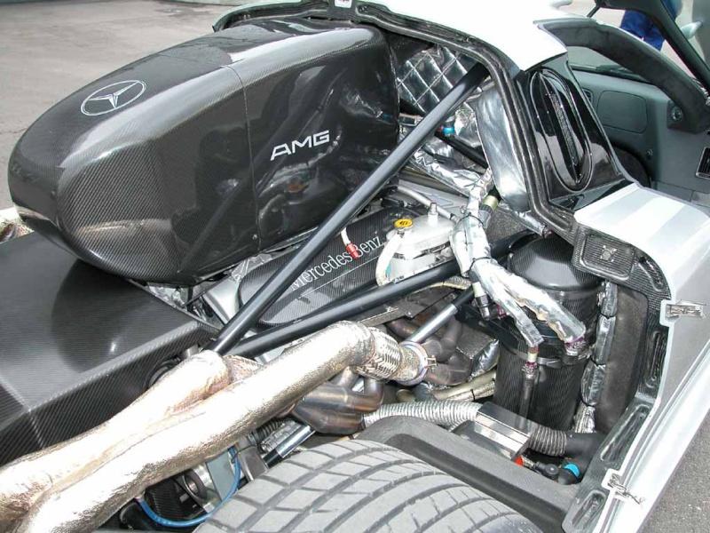 La Mercedes Benz CLK GTR 1998 Clkgtr20