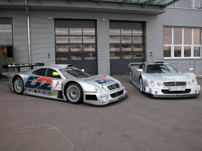 La Mercedes Benz CLK GTR 1998 Clkgtr27