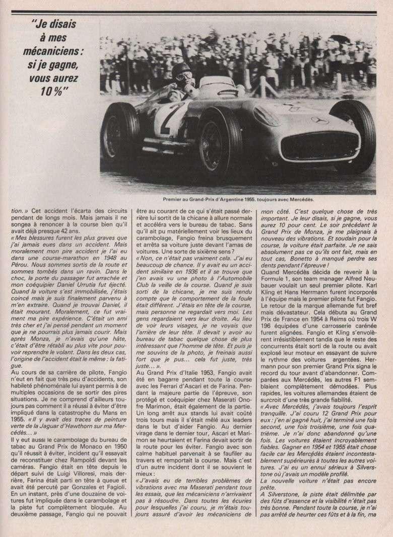 [pilote] Juan Manuel Fangio (1911-1995) Image-22