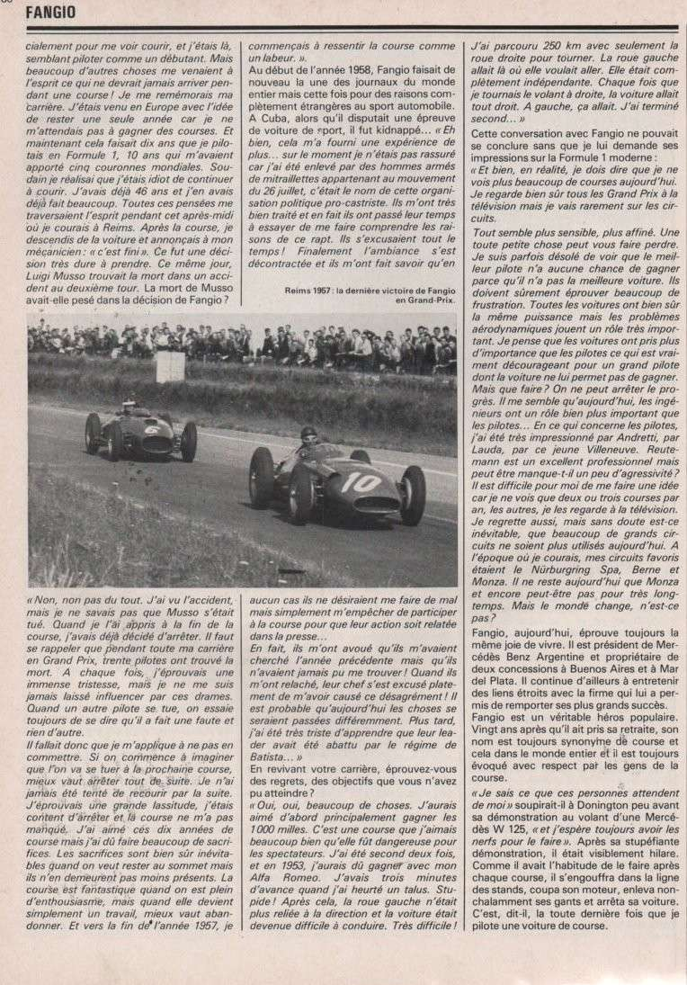 [pilote] Juan Manuel Fangio (1911-1995) Image-25