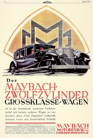 Histoire de Maybach Maybac58