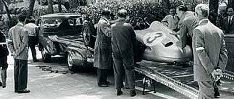 75 ans de transporteurs pour les flèches d'argent Merce246
