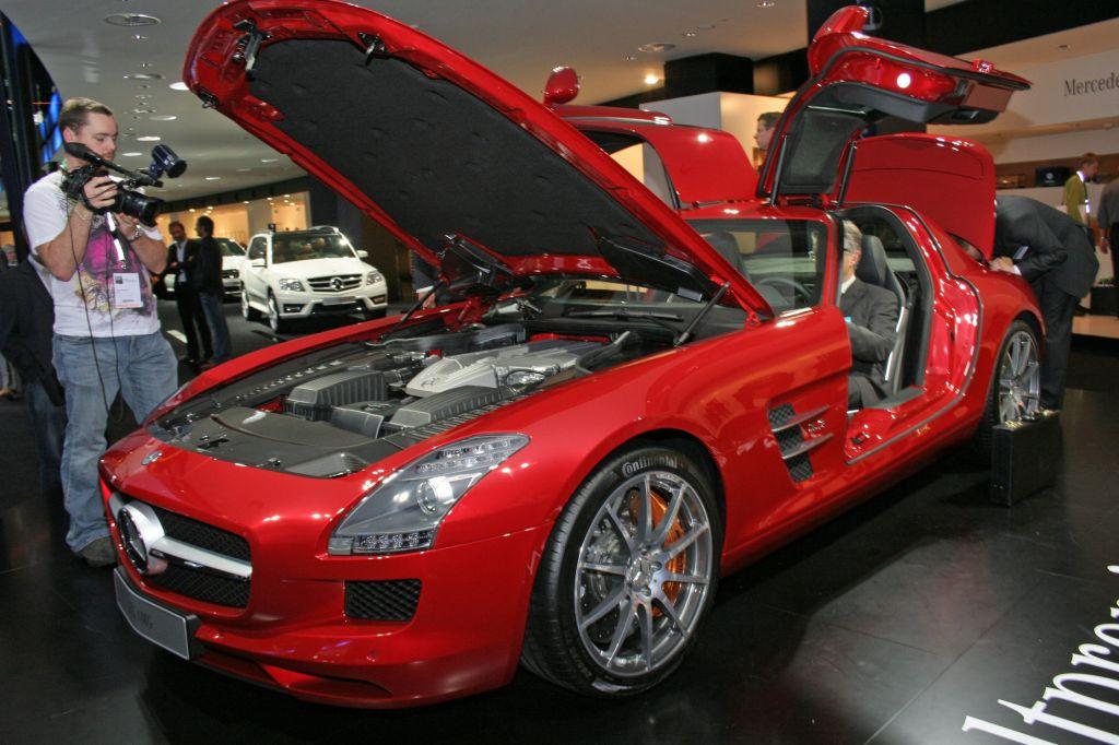 [Photos] Galerie : La Mercedes SLS Merced24