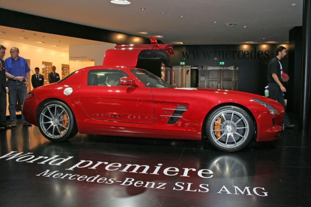 [Photos] Galerie : La Mercedes SLS Merced34