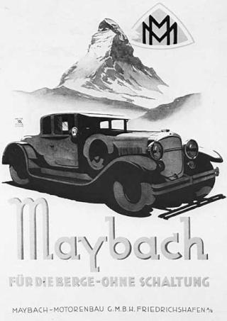 Histoire de Maybach Reklam10