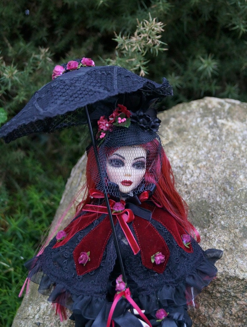 Evangeline Eternally yours et la tenue Evening rose par Mellody Dsc00740