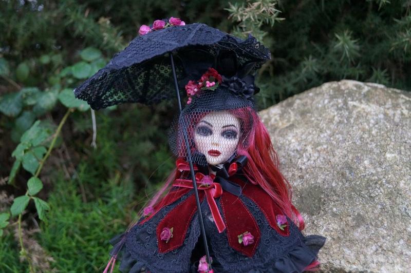 Evangeline Eternally yours et la tenue Evening rose par Mellody Dsc00742