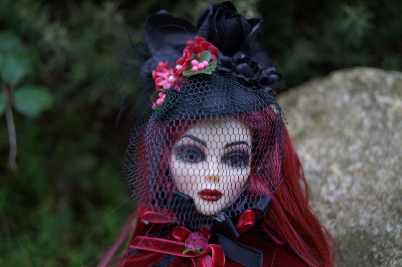 Evangeline Eternally yours et la tenue Evening rose par Mellody Dsc00744