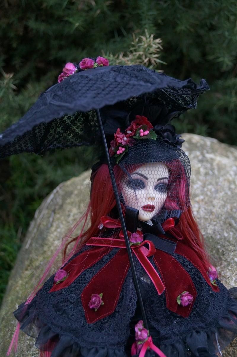 Evangeline Eternally yours et la tenue Evening rose par Mellody Dsc00746