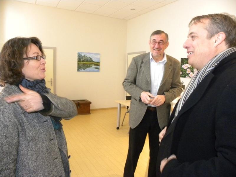 La sous-préfète en visite à Wangen le mercredi 13 janvier 2010 02_15410