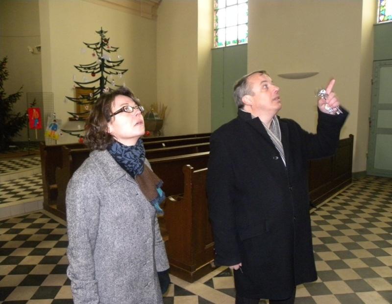 La sous-préfète en visite à Wangen le mercredi 13 janvier 2010 02_15512