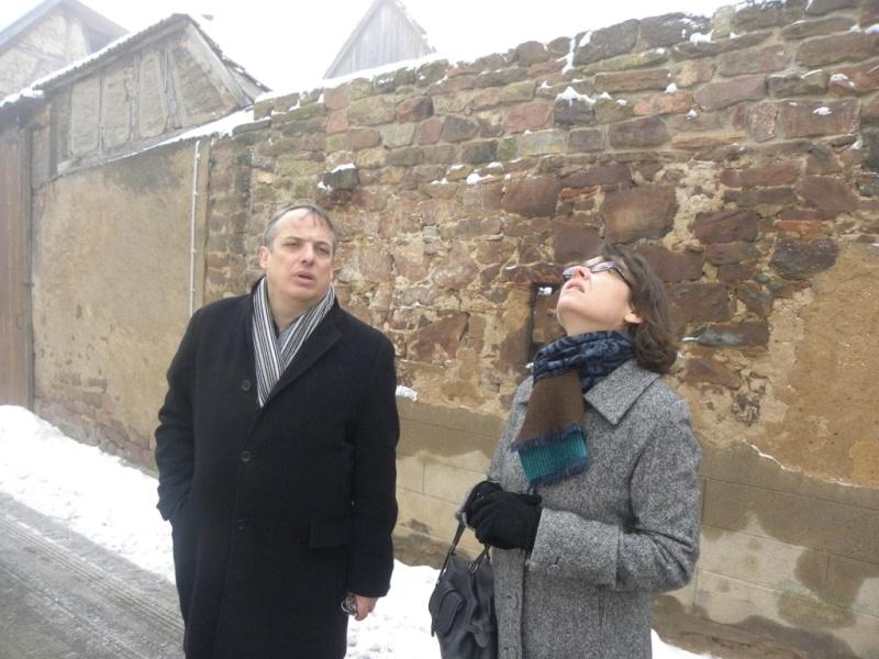 La sous-préfète en visite à Wangen le mercredi 13 janvier 2010 02_15513