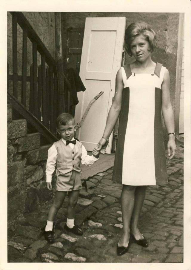 Thierry,petit garçon des années 60/70  à Wangen Image018