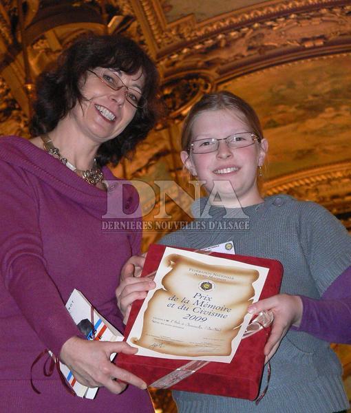 Prix National de la Mémoire et du Civisme  X2010013